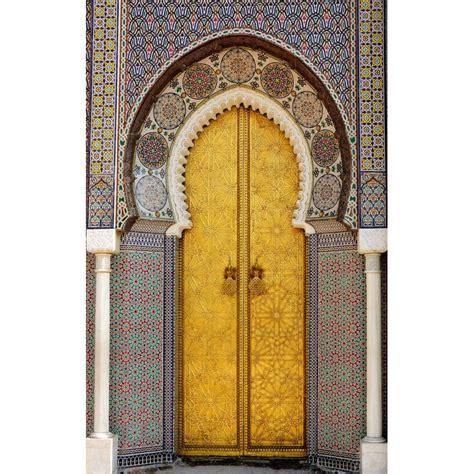 porte interieure grande largeur papier peint d 233 co grande largeur porte palais orientale stickers muraux deco