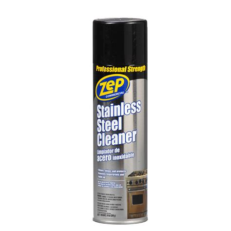 stainless steel cleaner shop zep commercial 14 oz stainless steel cleaner at lowes com