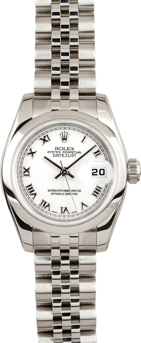 rolex womens datejust  certified pre owned