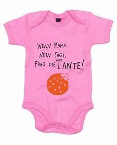 Lustige Baby Bodys : baby body wenn mama nein sagt frag die tante familie erlauben gro z gig s e baby bodys ~ Frokenaadalensverden.com Haus und Dekorationen