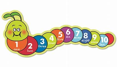 Number Line Counting Numbers Clipart Caterpillars Caterpillar