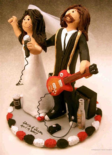 wedding cake toppers musical wedding cake toppers