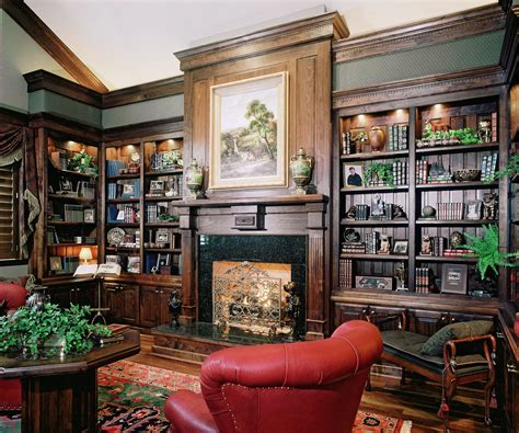Library Designs : 30 Classic Home Library Design Ideas Imposing Style