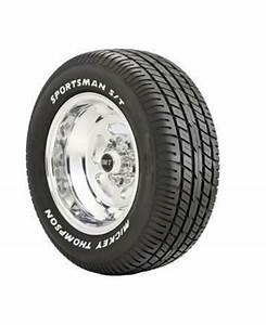 mickey thompson 90000000184 single sportsman s t radial With mickey thompson street comp white letters