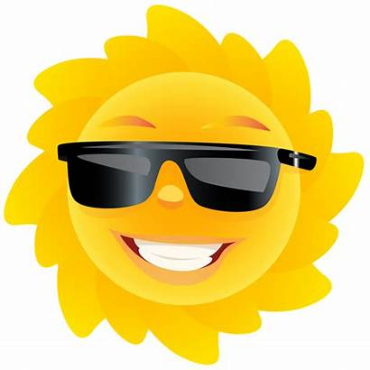 Sun Transparent Clipart Clip Summer Smiley Moon