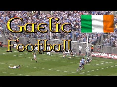 Gaelic football - futbol gaélico - YouTube