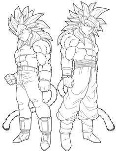 Dragon ball z coloring pages | Cartoons art | Pinterest