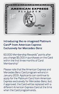 Boa Chart Mercedes Benz Cards From American Express Will Be