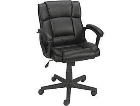 staples montessa luxura managers office chair black 19026