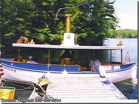 Boat Launch Steamboat by 1927 Steamboat Antique Steamlaunch Pontooncats