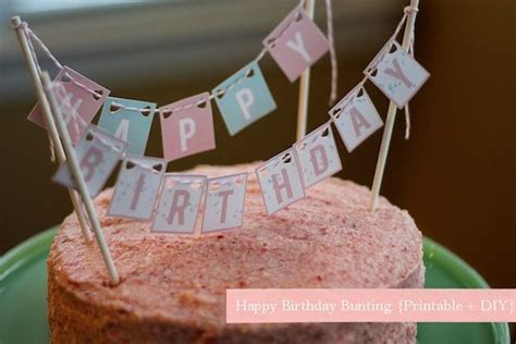 free happy birthday printable letters used to create