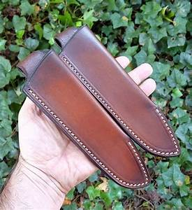 Split Pouch Belt Sheath  Rh Carry  Walnut W  Beige