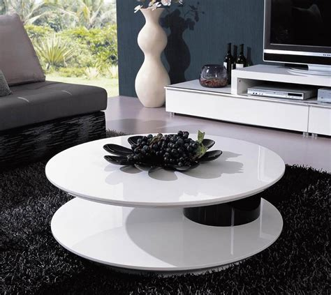 table spinning center designs coffee tables 12 great ideas designs and photos
