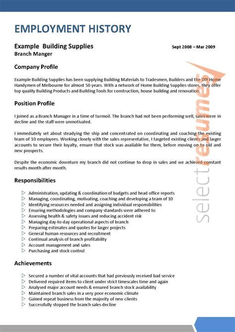 executive design 112 select resumes