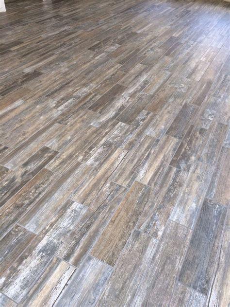 barn wood tile barn wood tile love our floors finished house pinterest