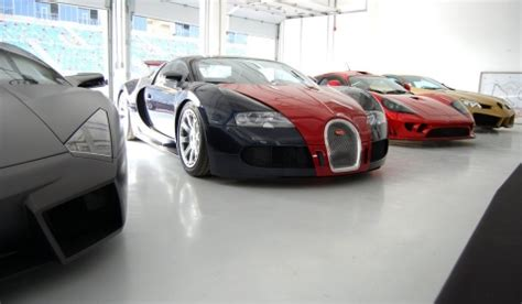 Photos An Exotic Car Collection Of Epic Proportions In