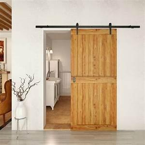 Porte coulissante grange 35 idees pour la chambre rustique for Porte de garage coulissante et porte en bois blanc