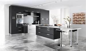 Cuisine ouverte sur salon petite surface salon cuisine for Idee deco cuisine avec meuble contemporain salle a manger