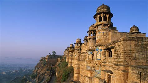 gwalior fort india city travel photography wallpaper