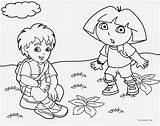 Coloring Diego Dora Cool2bkids Printable sketch template