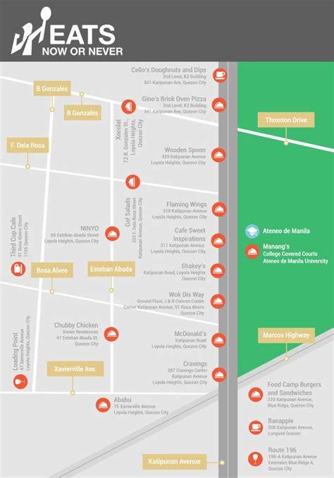 food map   eat  katipunan quezon city food