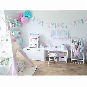 Kinderzimmer Mädchen Ikea : kinderzimmer in pastellfarben mit ikea stuva und tipi zelt ~ Michelbontemps.com Haus und Dekorationen