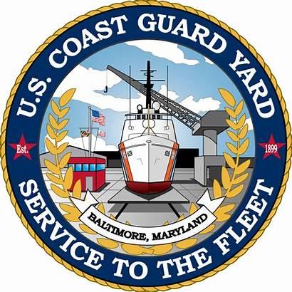 Uscg Yard Guard Coast Svg Crest Emblem