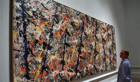 jackson pollock free form original value jackson pollock s blue poles now worth 350m afr