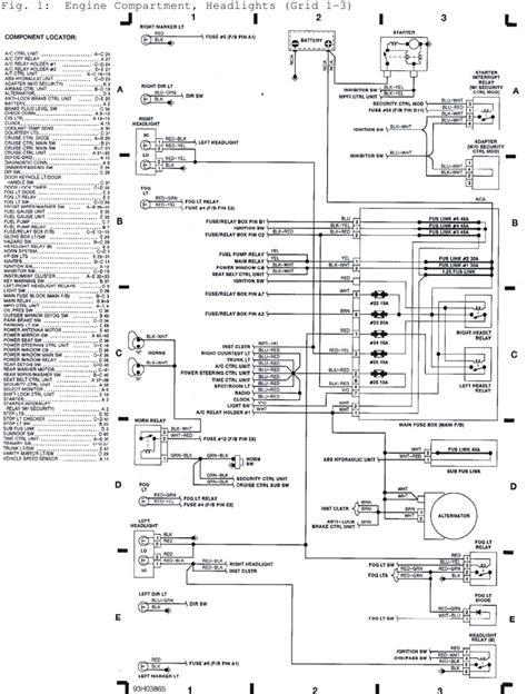 manual  subaru svx engine compartment headlights