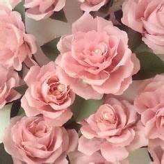 Comment Faire Des Roses En Papier : 18 t tes de roses 7 cm en papier cr pon avec perles mariage d coration fleurs en papier ~ Melissatoandfro.com Idées de Décoration