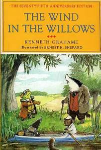 Design context: Wind in the Willows illustrated book covers