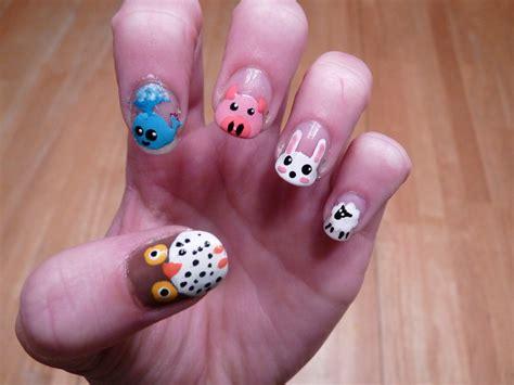 animal nail designs 25 and adorable animal nails entertainmentmesh