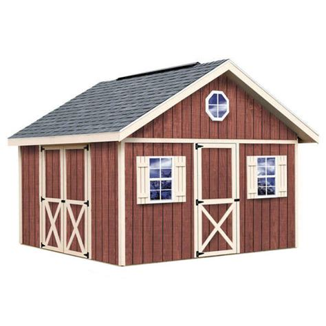 Menards Wood Storage Shed Kits by Best Barns Fairview 12 X 12 Shed Kit Without Floor At