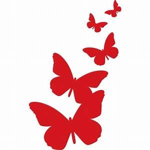DigiDecor Butterflies Silhouette Wall Art