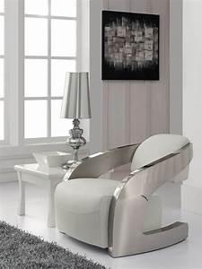 Fauteuil Design Blanc : fauteuil design acier blanc tous les objets de ~ Teatrodelosmanantiales.com Idées de Décoration