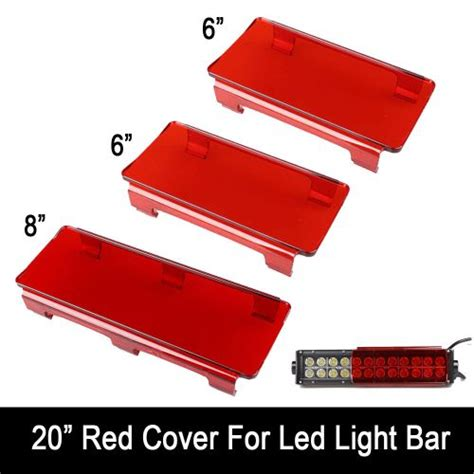 buy 20 quot inch snap on led light bar lens covers for