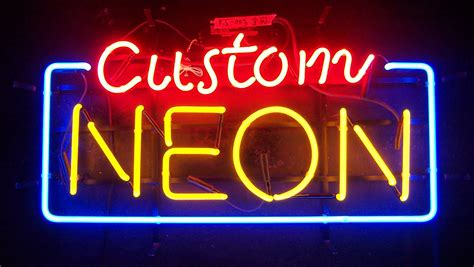 Neon Lade by Custom Neon Sign Any Size Any Shape Dottheistudio