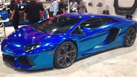 lamborghini custom paint cool car custom paint blue lamborghini lambo pinterest