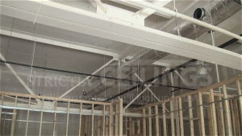 Hanging Drywall On Angled Ceiling by Install Drywall Suspended Ceiling Grid Systems Drop