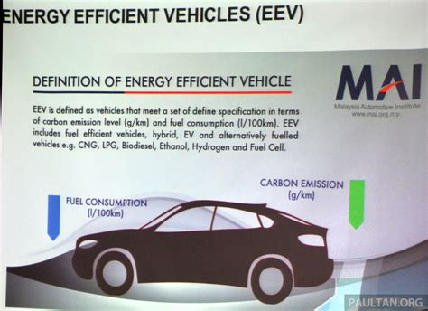 Definition Of Energy Efficient Vehicles (eev