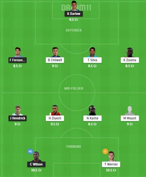 NEW vs CHE Dream11 Prediction: Premier League 2020