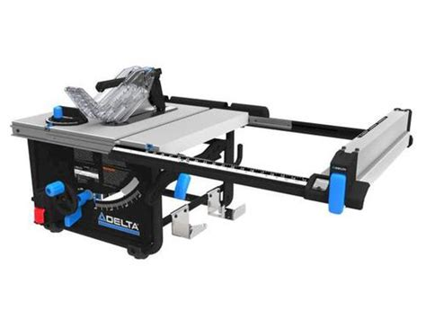delta table saw power switch delta 10 quot portable table saw at menards