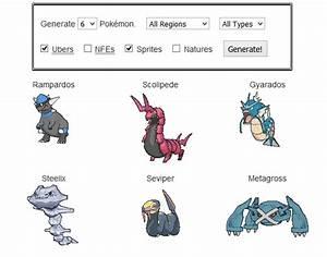 random pokemon generator images