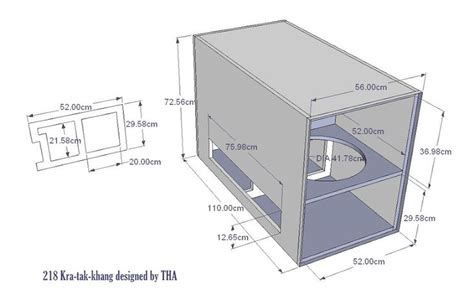 image result  speaker plans speaker plans speaker box design subwoofer box design