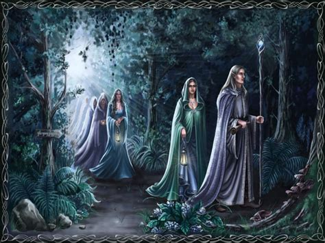 Elves In The Forest Wallpaper And Background 1280x960