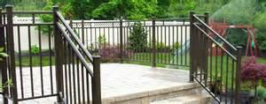Porch Rail Ideas by Deck Railing Systems Easyrailings Aluminum Railings