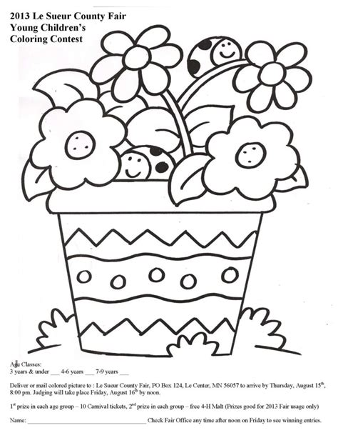Coloring Contest by Free Coloring Pages Coloring Contest Children S