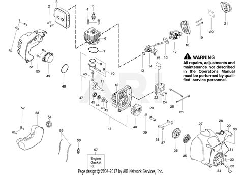 Poulan Wsfk Parts Diagram For Engine