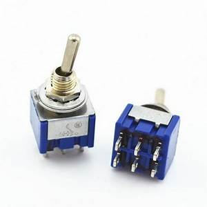 Interrupteur à Levier : mini interrupteur levier dpdt on off on euro makers ~ Dallasstarsshop.com Idées de Décoration