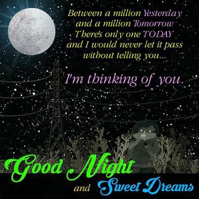 Night Sweet Card Goodnight Greetings